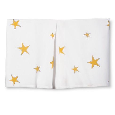 Rachel Kate Rock Animal Tailored Bed Skirt White Yellow Twin