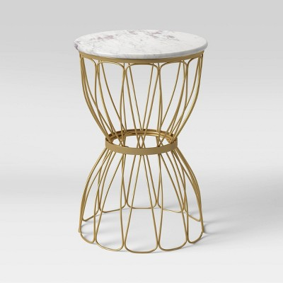 Marble Top Patio Accent Table - Opalhouse™