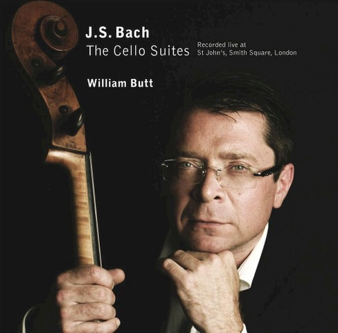 William butt - Bach cello suites:Live (CD) - image 1 of 1