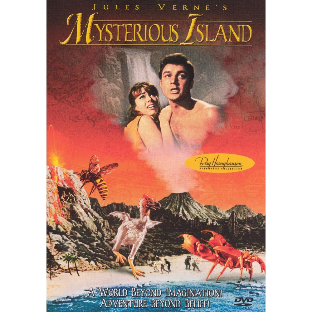 Mysterious Island (Dvd), Movies