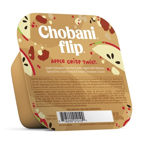 Chobani Flip Apple Crisp Twist Greek Yogurt - 5.3oz - image 1 of 1