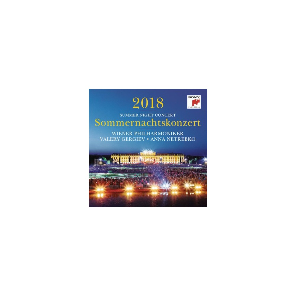 Wiener Philharmonike - Sommernachtskonzert 2018/Summer Night (CD)