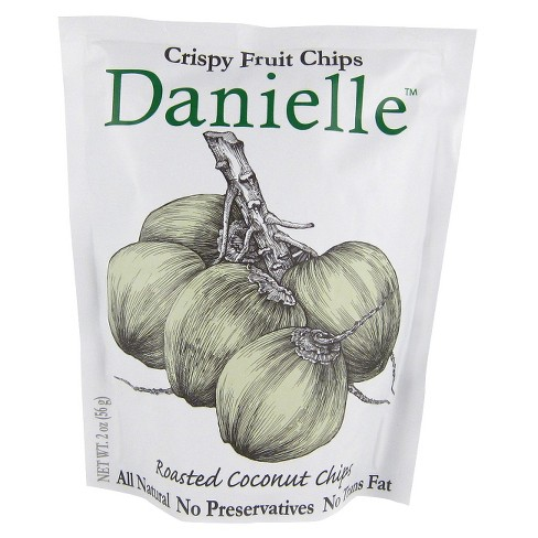 Danielle Roasted Coconut Chips 2 oz - image 1 of 1