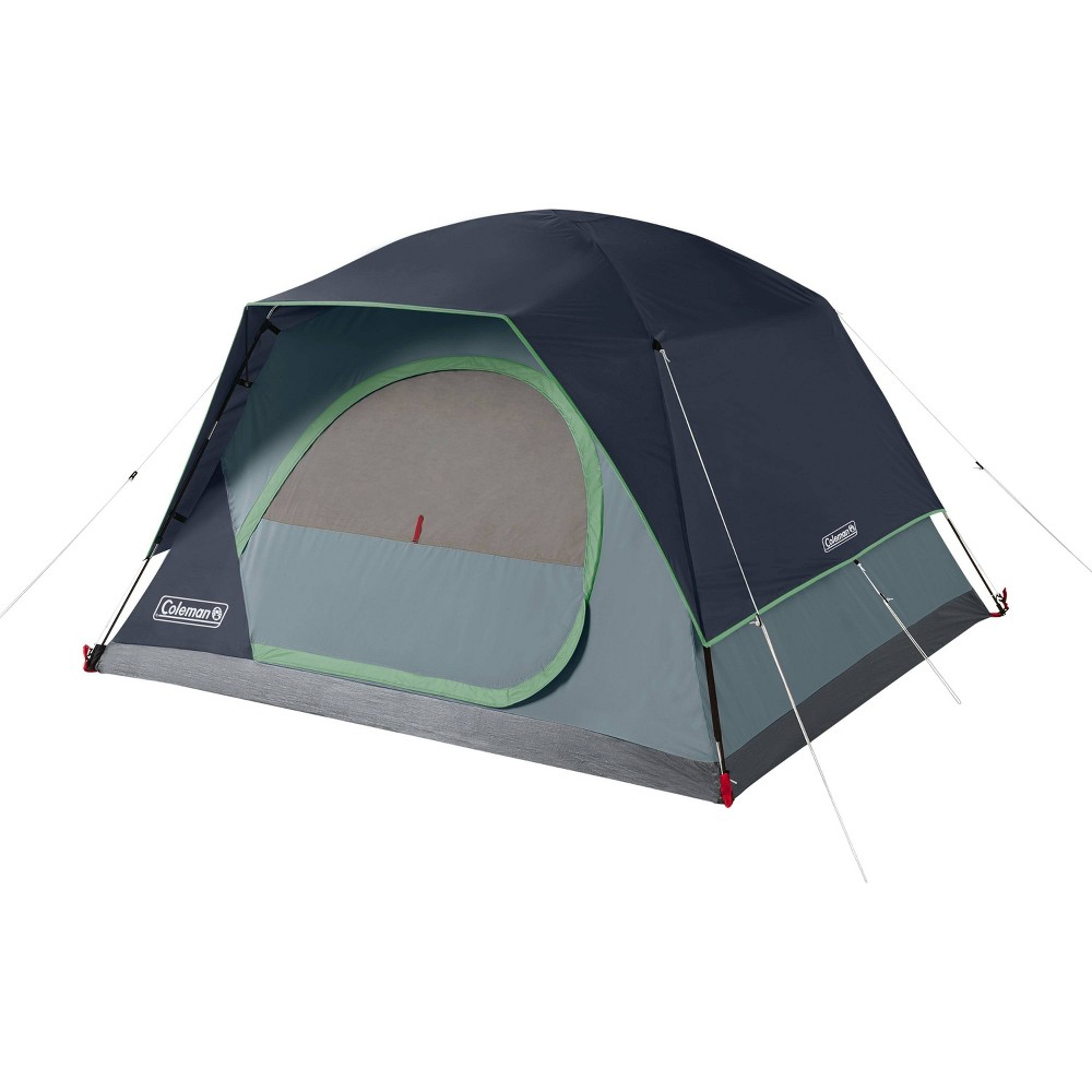 Coleman Skydome 4 Person Blue Nights Tent Blue