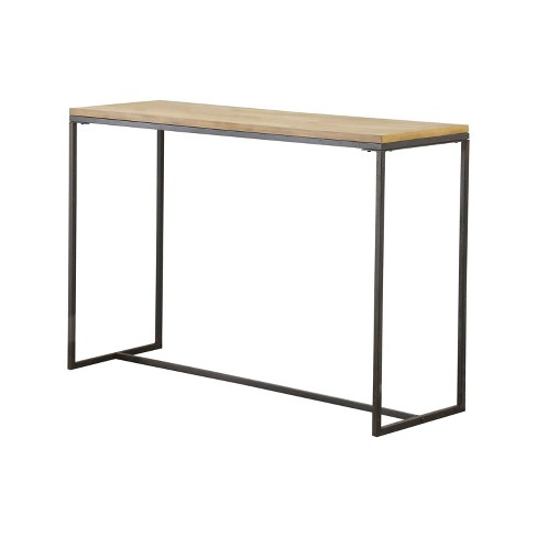 Cool Kirkwood Industrial Sofa Table Natural Wood Abbyson Living Andrewgaddart Wooden Chair Designs For Living Room Andrewgaddartcom