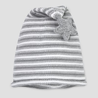 Baby's Night Cap - Cloud Island™ Grey 0-6M
