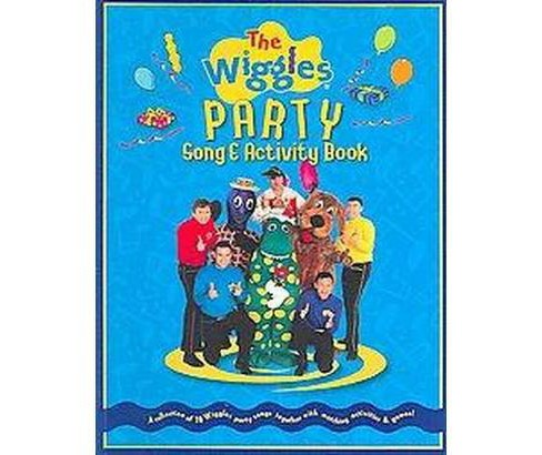 Wiggles Party Song & Activity Book (Paperback) - image 1 of 1