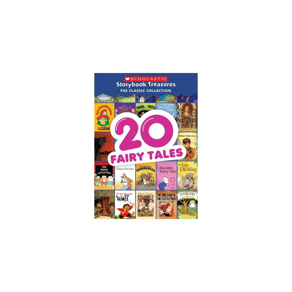 20 Fairy Tales Storybook Treasures Classic Collection (Dvd)
