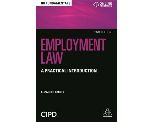 Employment Law : A Practical Introduction -  by Elizabeth Aylott (Paperback) - image 1 of 1