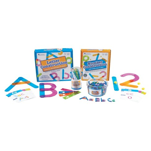 Learning Resources Letter and Number Construction Kit - image 1 of 1