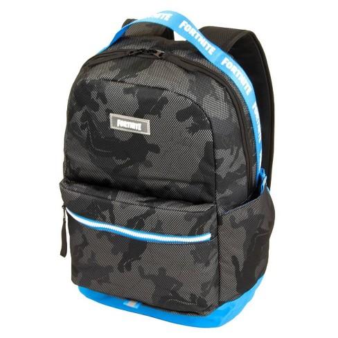 "Fortnite 18"" Kids' Subculture Backpack - Black/Blue - image 1 of 4"