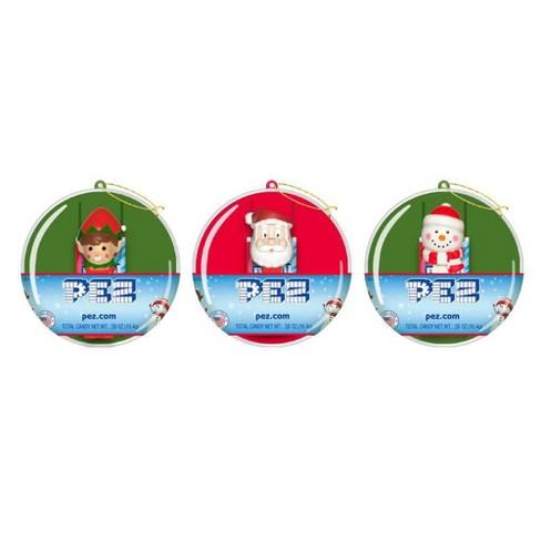 PEZ Assorted Mini Christmas Ornaments - 0.58oz - image 1 of 3