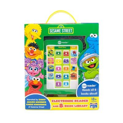 Sesame Street Electronic Me Reader 8-book Boxed Set