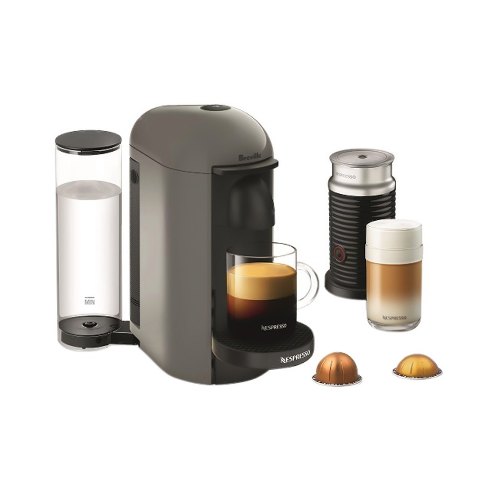 Nespresso VertuoPlus Gray Bundle by Breville 52341339