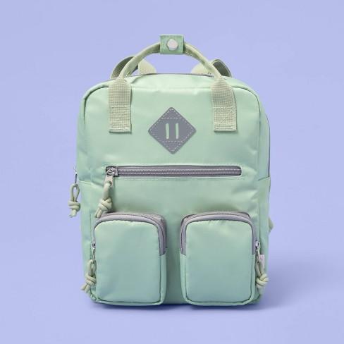 Kids' Nylon Mini Backpack - More Than Magic™ Green - image 1 of 3
