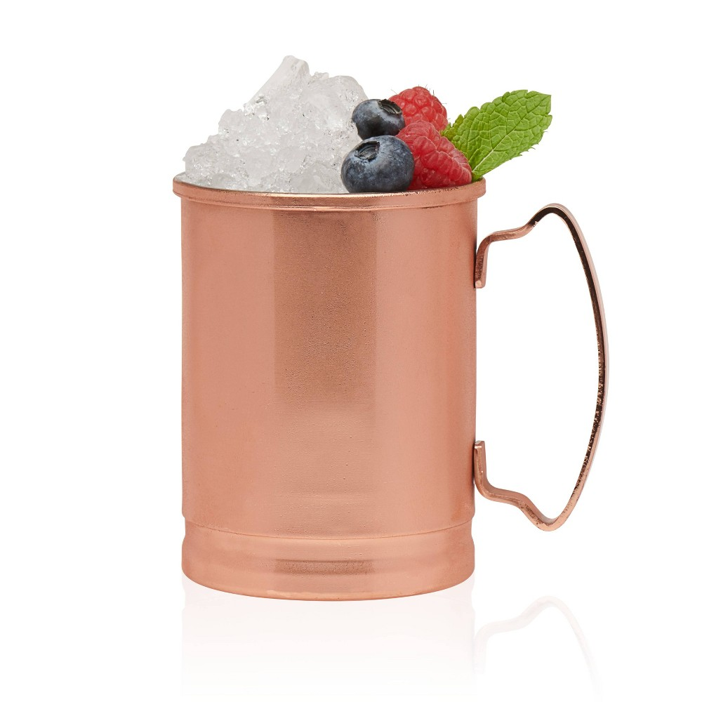 Image of Libbey Moscow Mule Copper Mugs 14oz - Set of 4