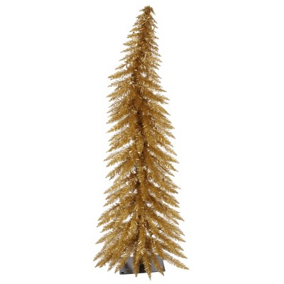 Vickerman Antique Gold Whimsical Artificial Christmas Tree