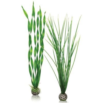 biOrb Easy Plant Set Aquarium Artificial Plants - Green