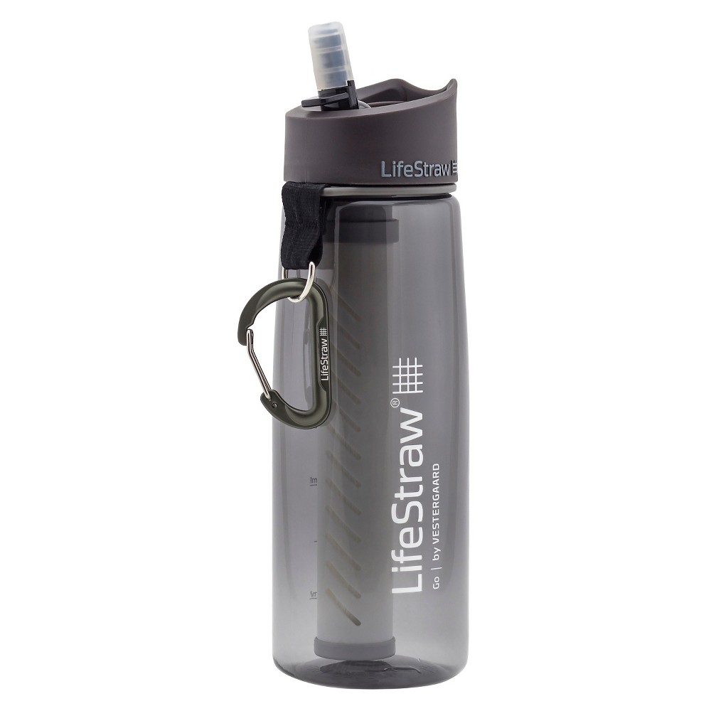 LifeStraw 2-Stage Filtration Water Bottle - Gray (23oz)