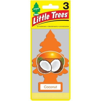 Little Trees Coconut Air Freshener 3pk