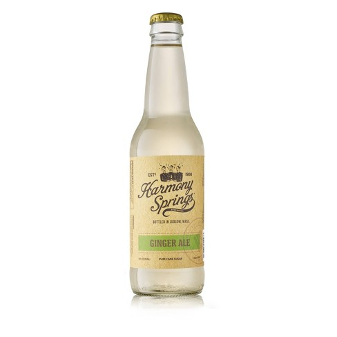 Harmony Springs Ginger Ale - 12 fl oz Bottle - image 1 of 1
