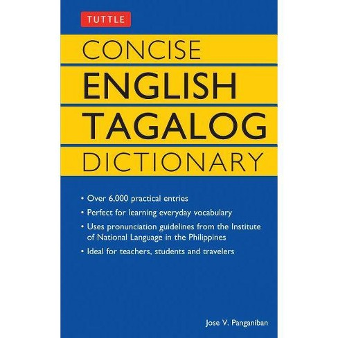 Concise English Tagalog Dictionary - (Tuttle Language Library)by  Jose V Panganiban (Paperback) - image 1 of 1