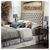 Queen/Full Jezebel Button Tufted Headboard - Christopher Knight Home - image 4 of 4