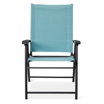 Sling Folding Patio Chair - Blue - Threshold™