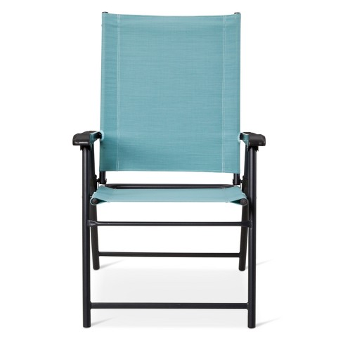 Sling Folding Patio Chair - Threshold™ - Sling Folding Patio Chair - Threshold™ : Target