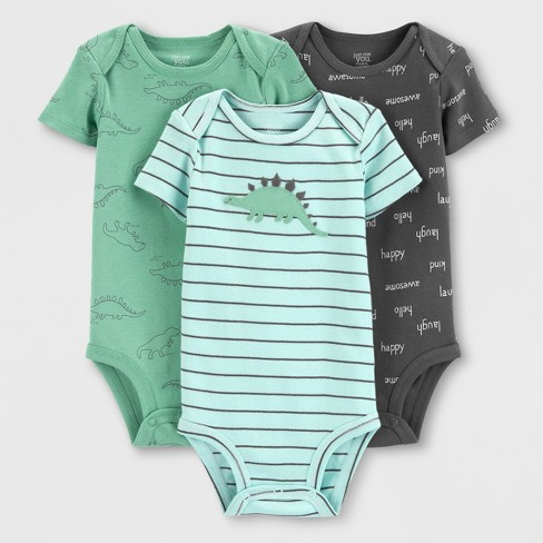 7b7e13d502ab Baby Boys  3pk Bodysuits - Just One You® Made By Carter s Green Gray ...