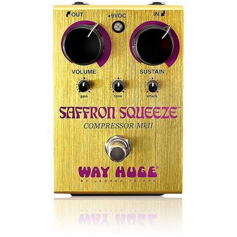 Way Huge Electronics Saffron Squeeze Compressor Guitar Effects Pedal - image 1 of 1