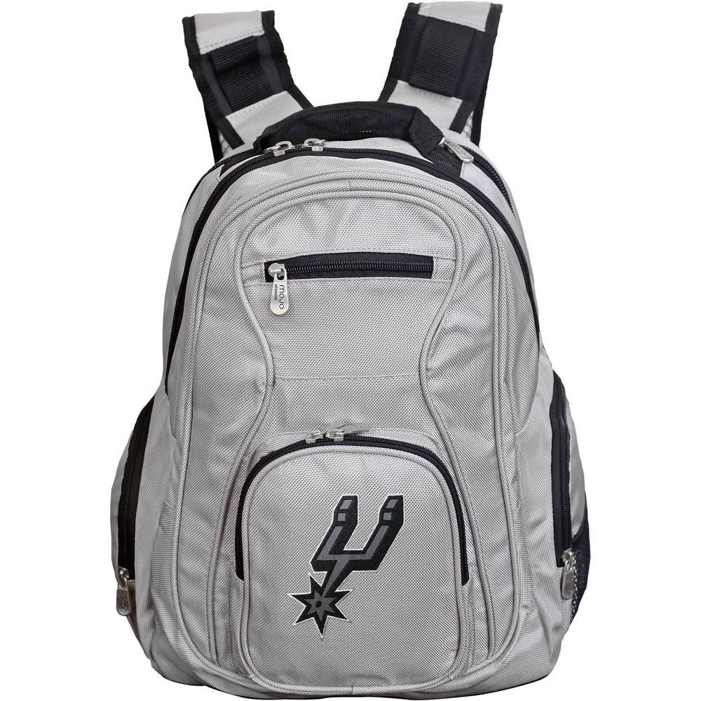 Nba San Antonio Spurs Gray Laptop Backpack