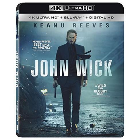 John Wick 4k Uhd Blu Ray Digital Target