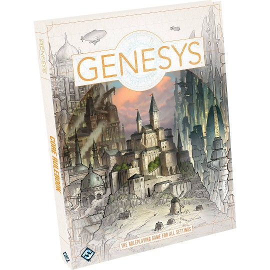Fantasy Flight Games Genesys Core Rulebook image number null