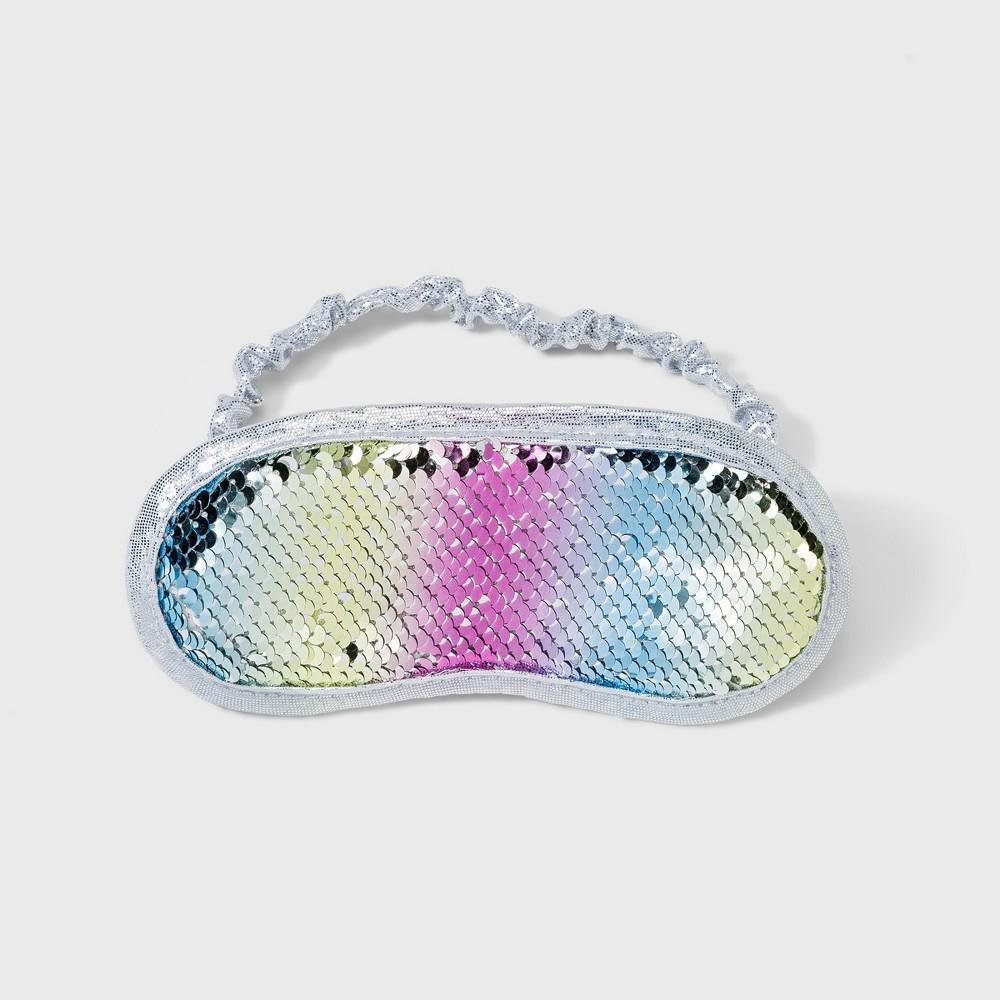 Kids' Flip Sequin Eyemask, Multi-Colored