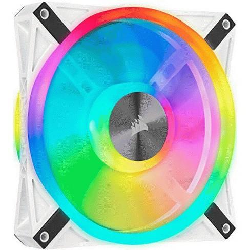 CORSAIR QL Series, iCUE QL140 RGB, 140mm RGB LED PWM White Fan, Single Fan - image 1 of 1