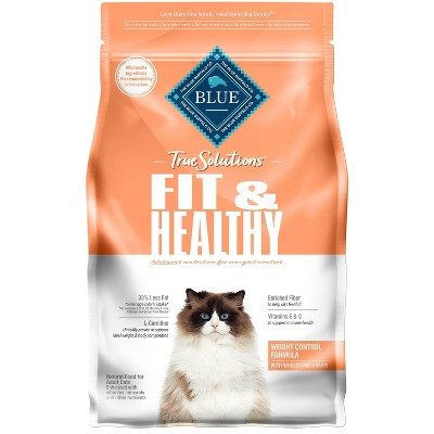 Blue Buffalo True Solutions Fit and Healthy Weight Control Adult Dry Cat Food