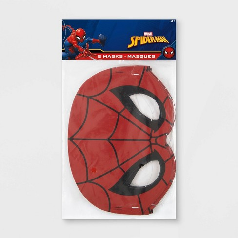 Spider-Man 8ct Party Masks - image 1 of 3