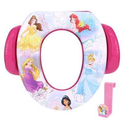 """Disney Princess """"Adventure is Waiting"""" Soft Potty Seat with Potty Hook"""