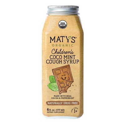 Maty's Organic Children's Coco Mint Cough Syrup - 6 fl oz