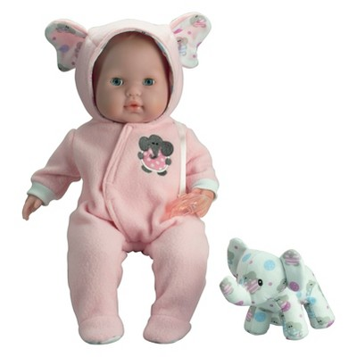 "JC Toys Berenguer Boutique 15"" Baby Doll - Pink Outfit"