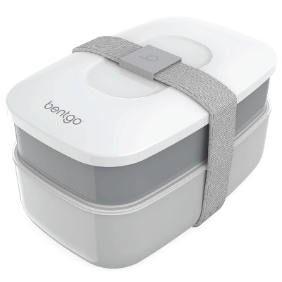 Bentgo Classic All-in-One Stackable Lunch Box - Gray