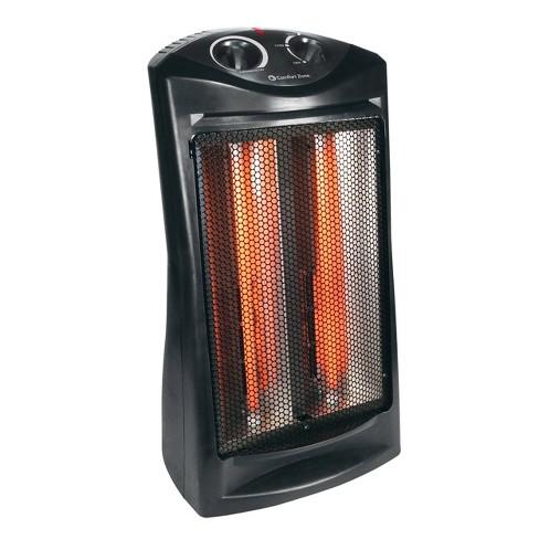 Comfort Zone Quartz Radiant Tower Heater - image 1 of 4