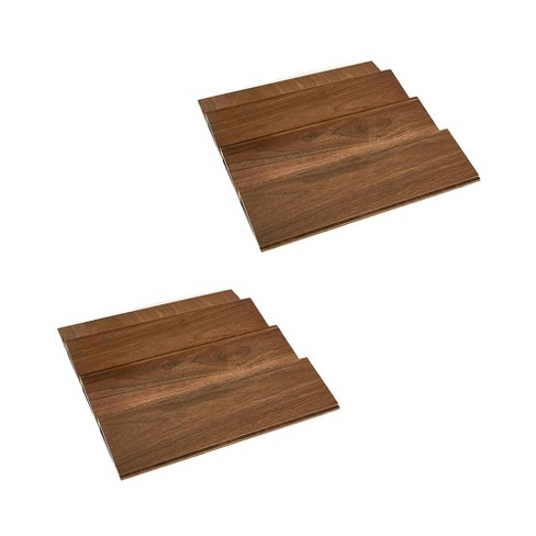 Rev-A-Shelf 4SDI-18 18 Inch Wood Drawer Spice Organizer, Natural Maple (2 Pack) - image 1 of 4