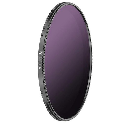 Freewell Magnetic Quick Swap System 82mm Neutral Density ND64 (6 f-stops) Camera Lens Filter, Also Includes UV Filter - image 1 of 4