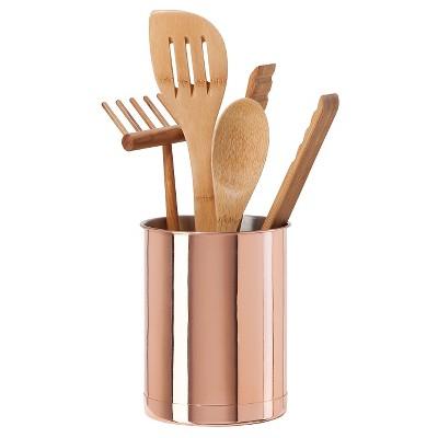 OGGI Copper Plated Utensil Holder