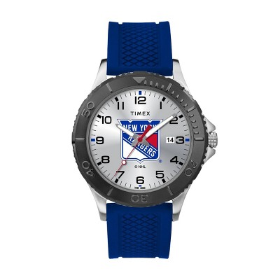 NHL New York Rangers Tribute Collection Gamer Royal Blue Men's Watch