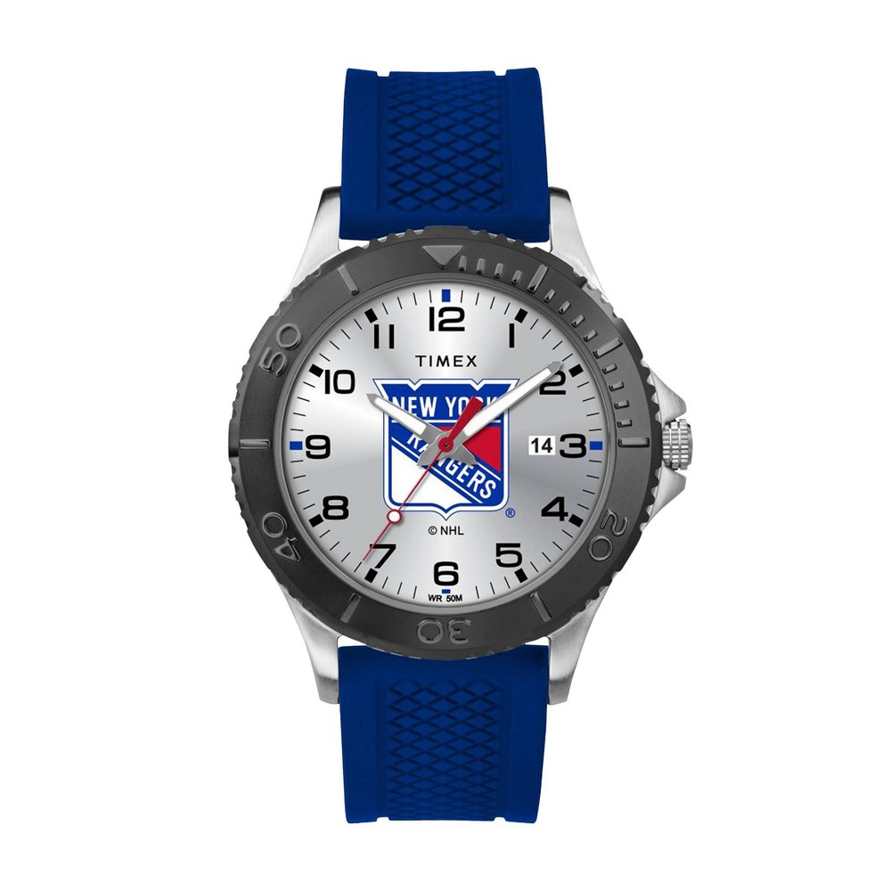 Nhl New York Rangers Tribute Collection Gamer Royal Blue Men 39 S Watch