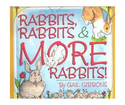 Rabbits, Rabbits & More Rabbits (Paperback) - image 1 of 1