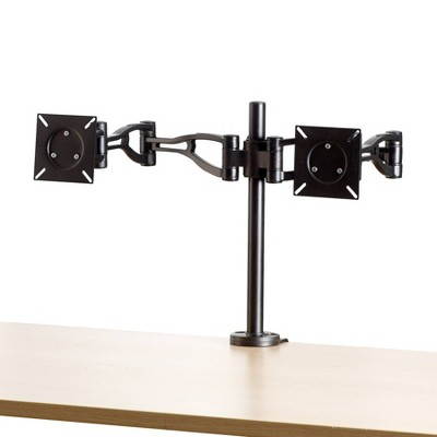 Professional Series Depth Adjustable Dual Monitor Arm - Fellowes